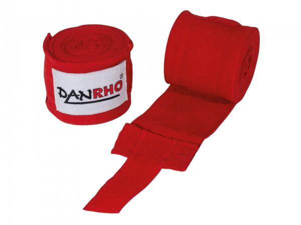 Boxbandagen elastisch in rot und schwarz by Danrho