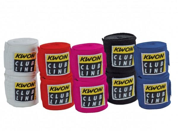 Boxbandagen elastisch Club Line by Kwon