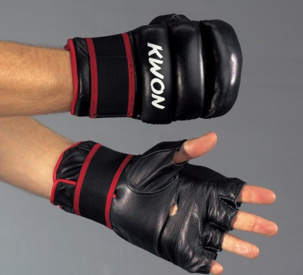 Boxsack Handschuhe S-Punch Leder by Kwon