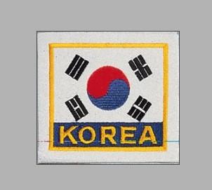 Länderflaggen mit Stick