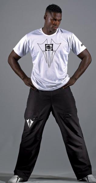 Traingingshose / Mens Cargo Pantsts weiß und schwarz