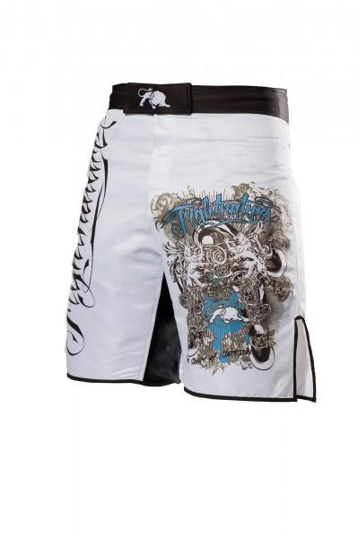 Shorts MMA Fightnature Predator weiß