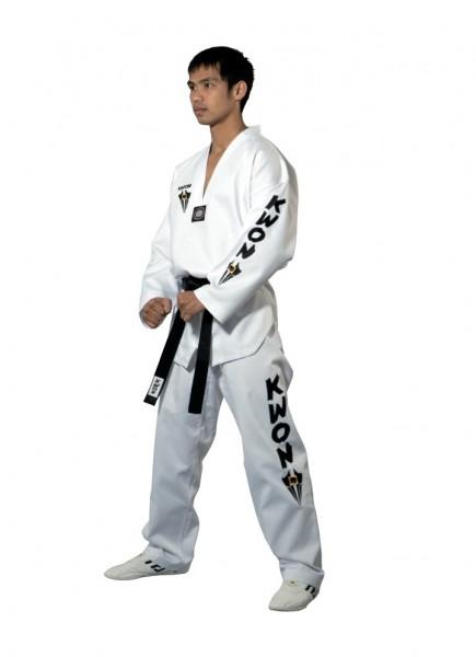 Taekwondo Anzug Starfighter mit Schriftzug groß - Größe: 120 cm