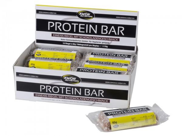 Proteinriegel Eiweißriegel Box Schokolade oder Erdbeere by KWON Nutrion