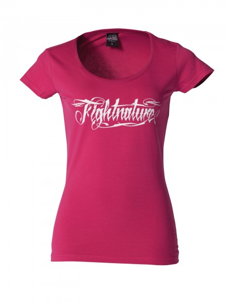 T-Shirt Damen Fightnature by Kwon