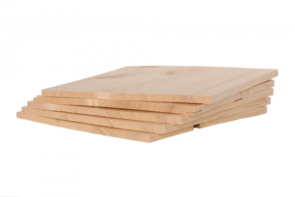 Bruchtestbretter Holz, 5er Pack, versch. Stärken