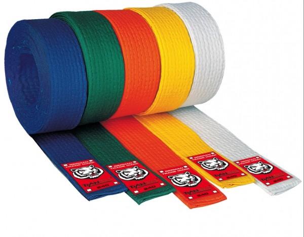 Budo Gürtel Junior in v. Farben ca. 4 cm