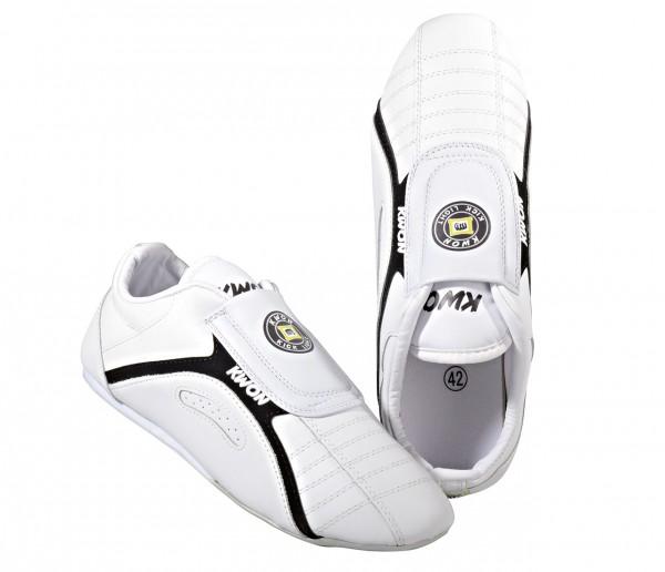 Schuhe Kick Light, Leder, weiß by Kwon