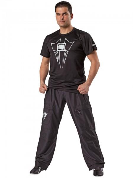 Trainingshose / Mens Cargo Pants schwarz
