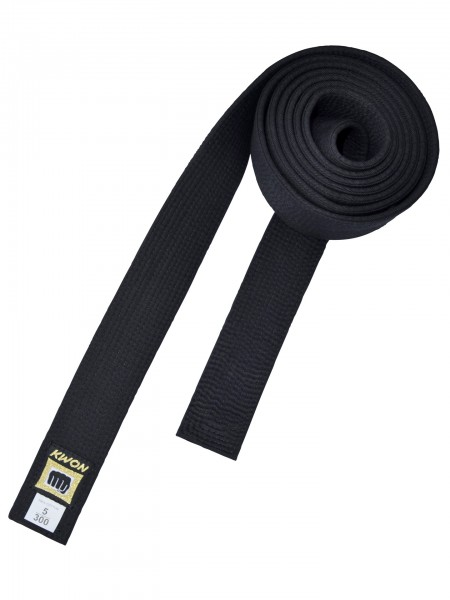 Gürtel Master Belt, schwarz by Kwon