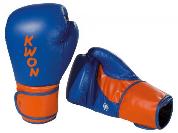Boxhandschuhe Super Champ, Leder, 2 Farben, by Kwon