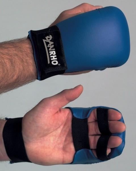 Handschutz Pale in rot und blau