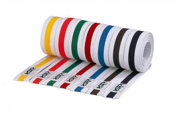 Kampfsportgürtel / Kindergürtel mehrfarbig in v. Längen by Kwon