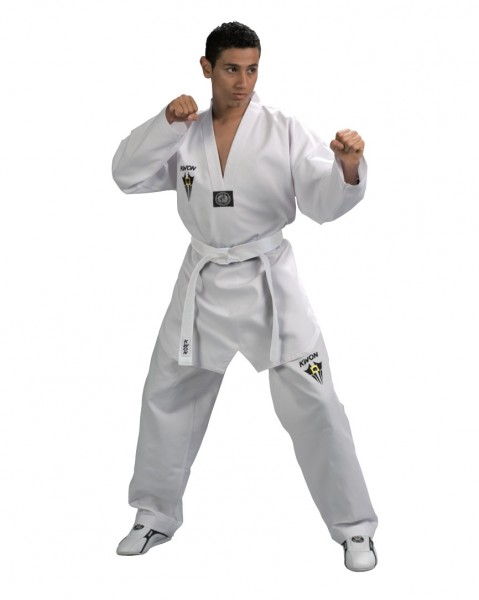 Taekwondo Anzug Starfighter mit weißem Revers
