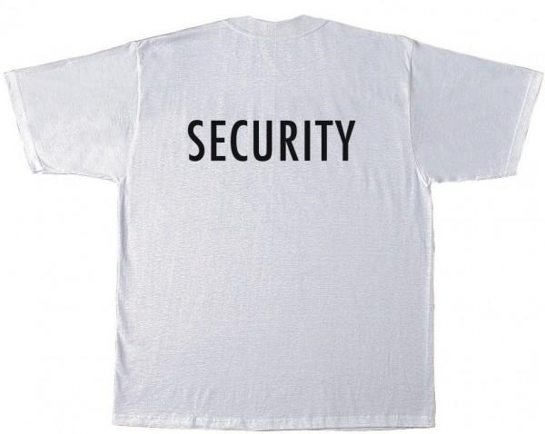 T-Shirt mit Security oder KWON Aufdruck
