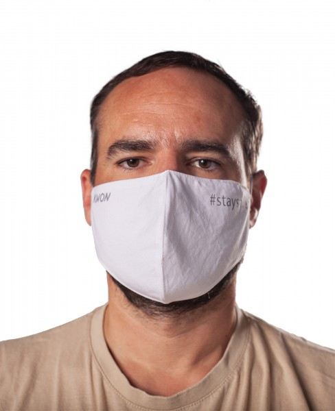 Behelfs Maske Anatomical Stay Safe, verschieden Größen by Kwon