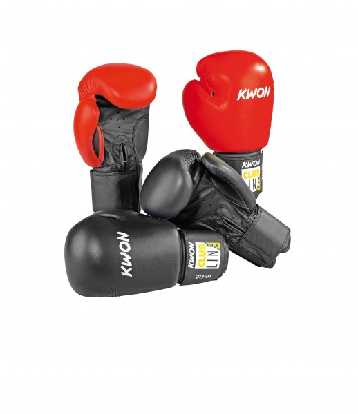 Boxhandschuhe POINTER Leder by Kwon, 10 oz, 2 Farben