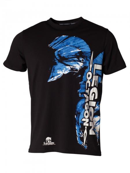 T-Shirt Blue Head by Legion Octagon MMA