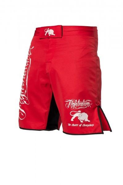 Shorts MMA Fightnature rot
