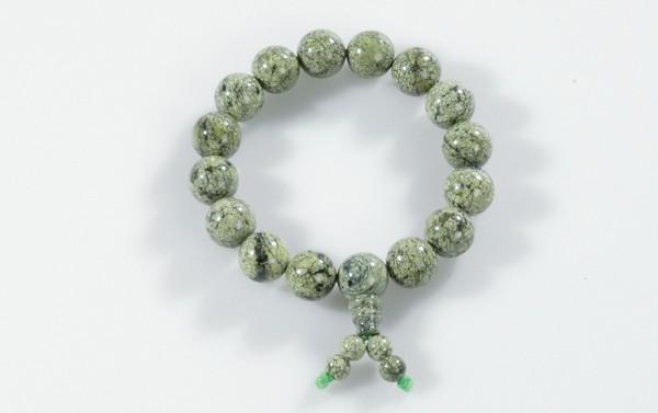 Armband Shaolin Stein grün