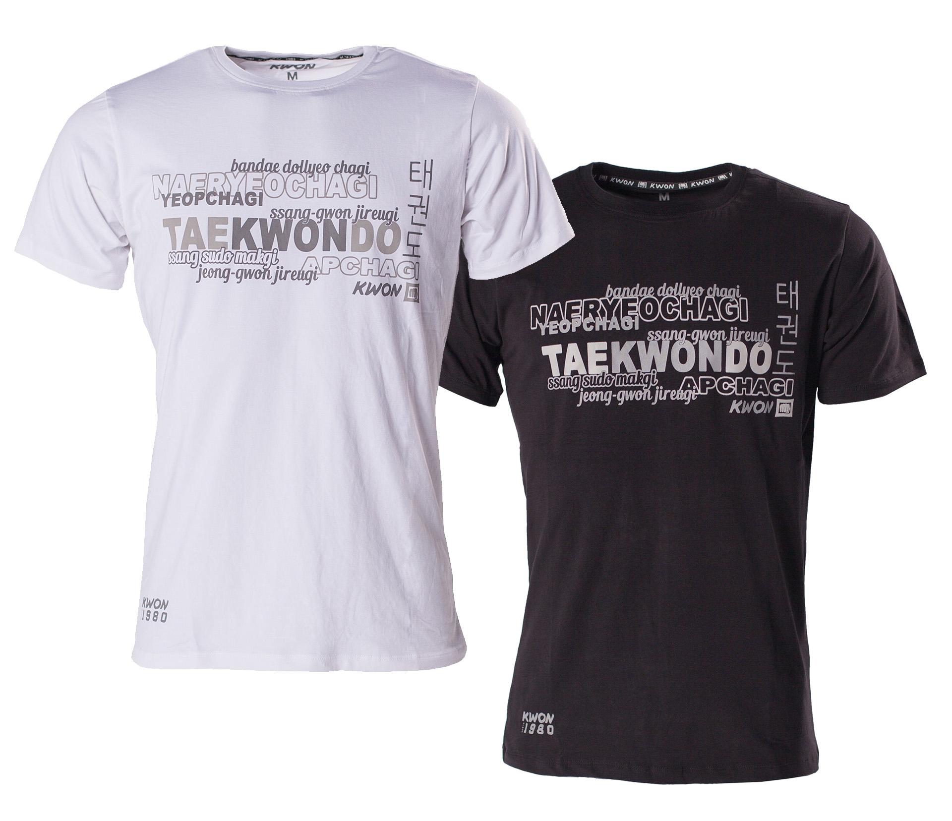 T Shirt Taekwondo in 2 Farben by Kwon
