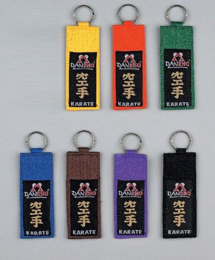 Schlüsselanhänger Kyu-Grade KARATE
