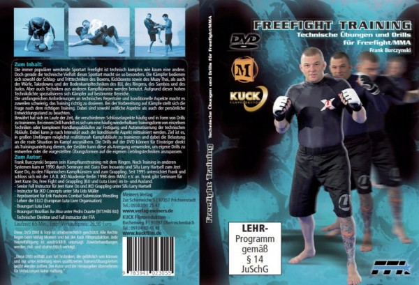 DVD Freefight Training
