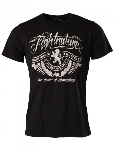 "T-Shirt ""train hard"" by Fightnature"