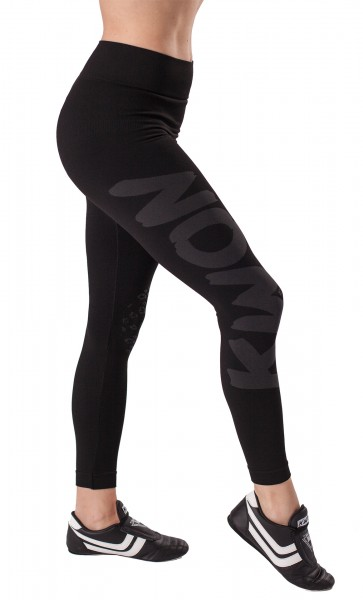 Leggings Damen schwarz by Kwon