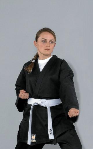 Karatejacke Black 8 oz by Kwon