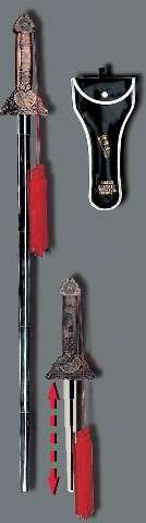 Teleskop Schwert Wu-Gong mit Tasche by Kwon