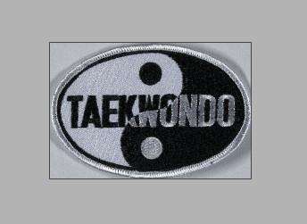 Aufnäher TKD Yin Yang