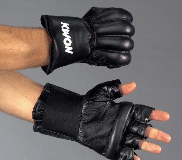 Boxsack Handschuhe Open Finger, Leder