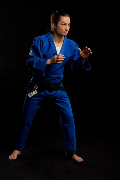 Judoanzug Ultimate 750 IJF blau by Danrho