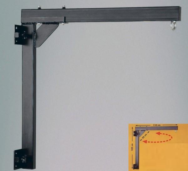 Boxsack Aufhängung rechts schwenkbar