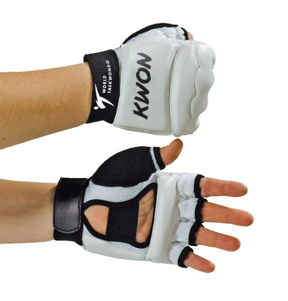 Taekwondo Handschutz WT weiß by Kwon