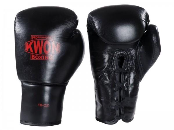 Boxhandschuhe Tournament 10 oz schwarz und rot by Kwon Professional Boxing