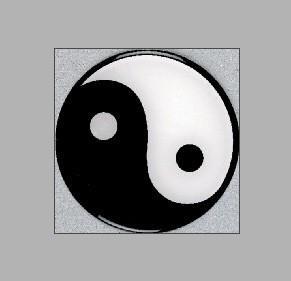 Aufkleber / Sofsticker Yin Yang by Kwon
