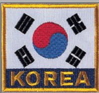 Korea Flagge by Danrho