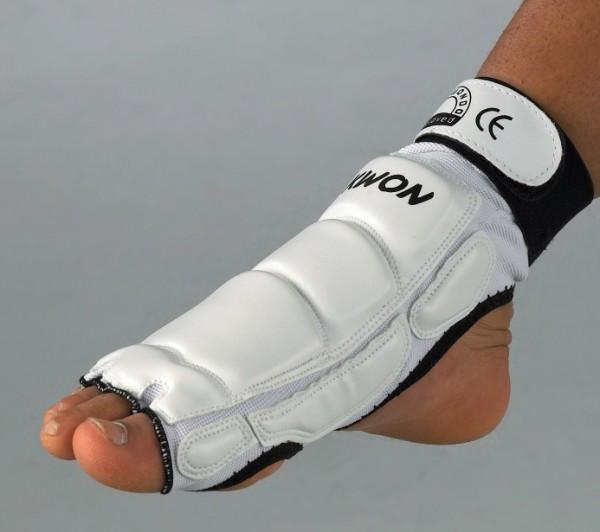 Taekwondo Fußschutz CE weiß oder schwarz