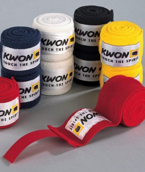 Boxbandagen elastisch, 2,5 m in 5 Farben by Kwon