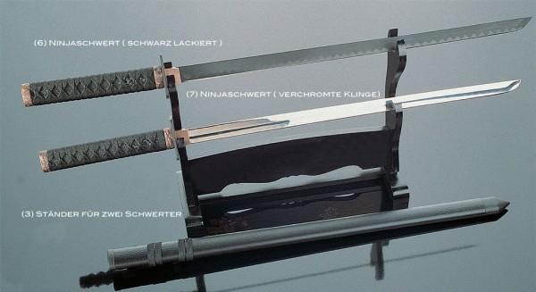 Ninja Schwert, verchromte Klinge by Kwon