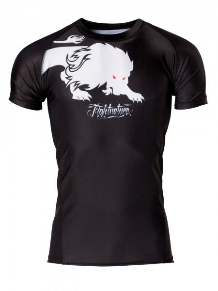 Rashguard Kurzarm T-Shirt Fightnature by Kwon