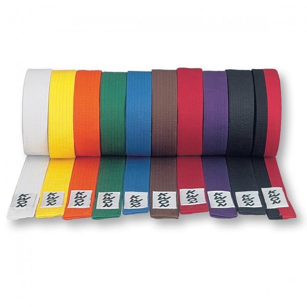 Kampfsport Gürtel von Kwon v. Farben und Längen