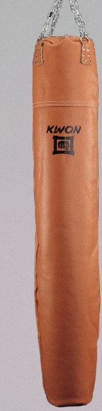 Boxsack / Lowkickstange Leder ungefüllt in braun by Kwon