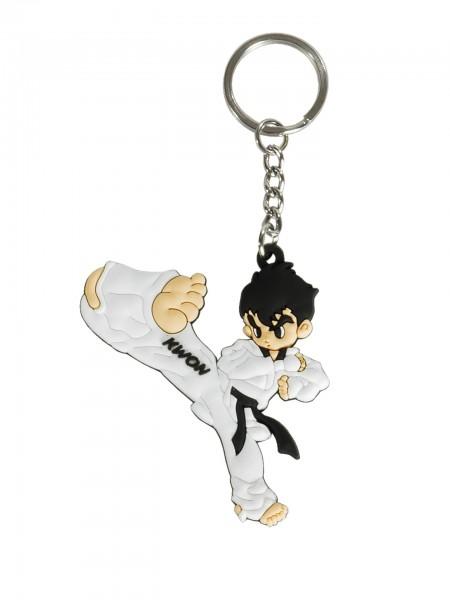 Schlüsselanhänger Taekwondo Kick oder Handkante by Kwon
