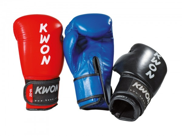Boxhandschuhe Ergo Champ, Leder, WAKO, 10 oz