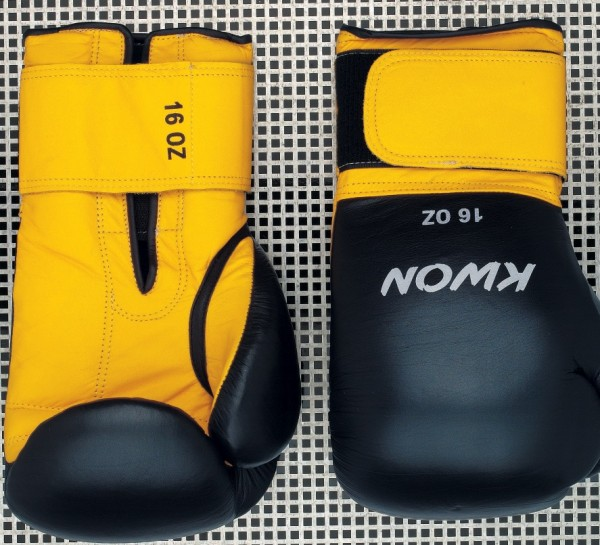 Boxhandschuhe Knocking, Leder, versch. oz, 2 Farben