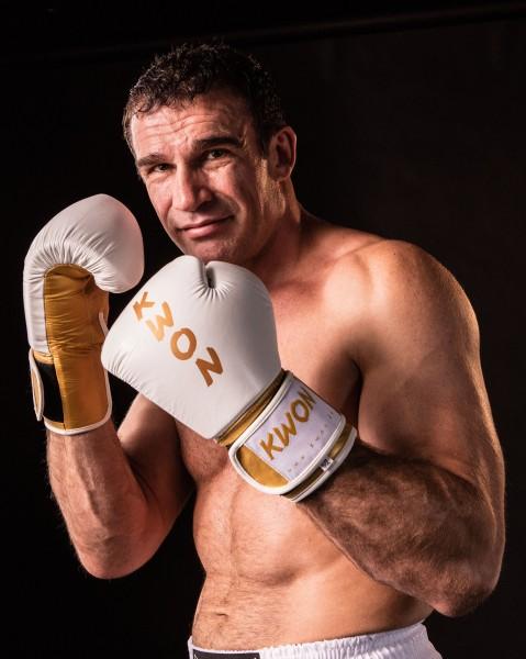 Boxhandschuhe KO Champ, Leder, 10 oz by KWON